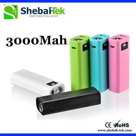 Power Bank New Tech new arrivals 3000mah patent led flashlight power bank 3000mah capacity power bank pack