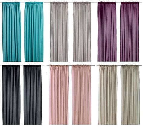 ikea drapes ikea vivan pair of curtains 2 panels purple turquoise