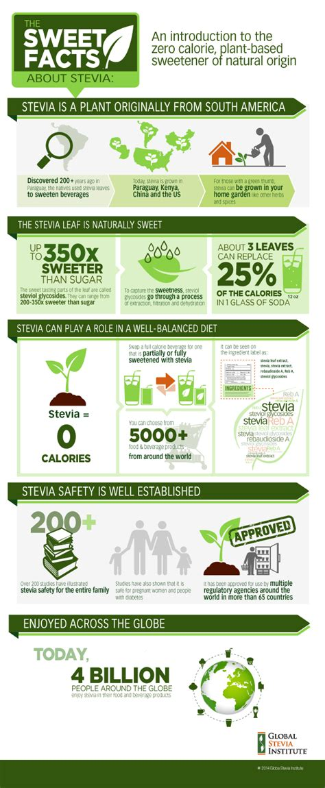 Detoxing From A Stevia Reaction by The Sweet Facts About Stevia An Infographic From Global