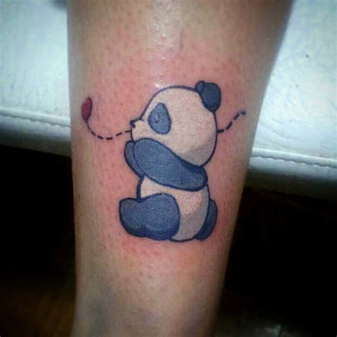 ooooy que mono jajaja tattoo color panda edumgz love