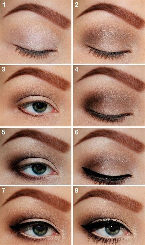 tutorial for top eyeliner a collection of the best natural makeup tutorials for