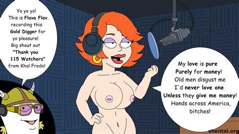 This Ginger Haired Bitch Has No Problems With Working Absolutely Nude While She Works On Radio