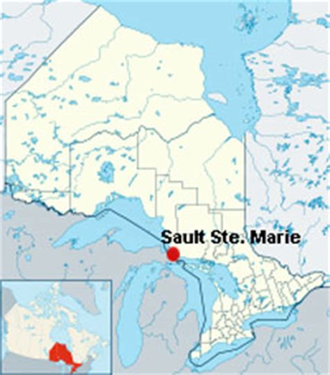 sault ste canada map the two rv gypsies in sault ste ontario canada