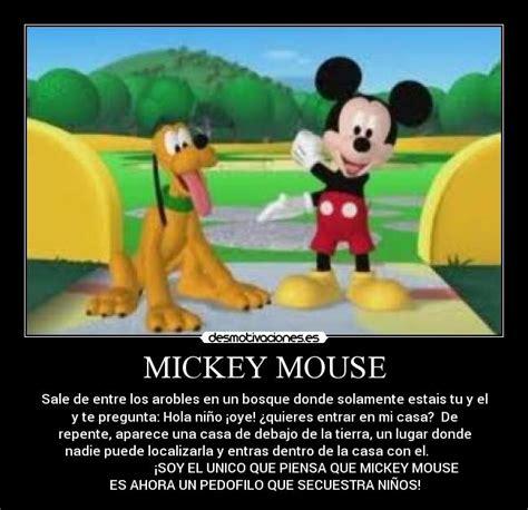 mensajes subliminales mickey mouse im 225 genes y carteles de miney desmotivaciones