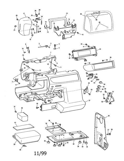 BROTHER SERVICE MANUAL-SEWING MACHINE Parts | Model
