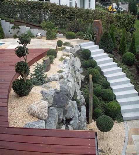 Garten Ideen Gestaltung 2785 garten ideen gestaltung teich gr ne pflanzen und steine f