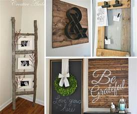 diy crafts for home decor 31 rustic diy home decor projects refresh restyle