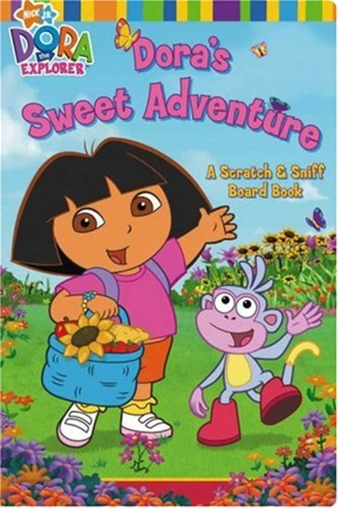 the explorer books s sweet adventure a scratch sniff board book by