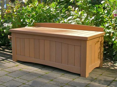 Outdoor Storage Bench Waterproof Waterproof Patio Storage Best Storage Design 2017