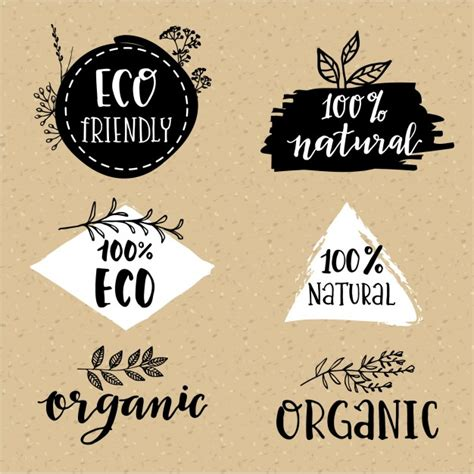 especiero vector organic logo set vector free download