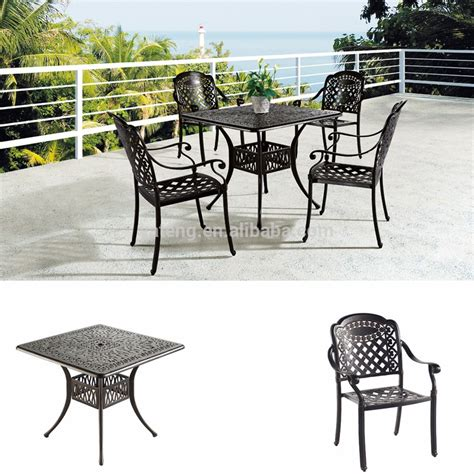 high quality rattan outdoor dinner table for wicker