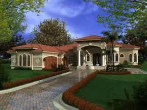 Mediterranean House Designs One Story Mediterranean House Plans Mediterranean Houses With Courtyards Mediterranean