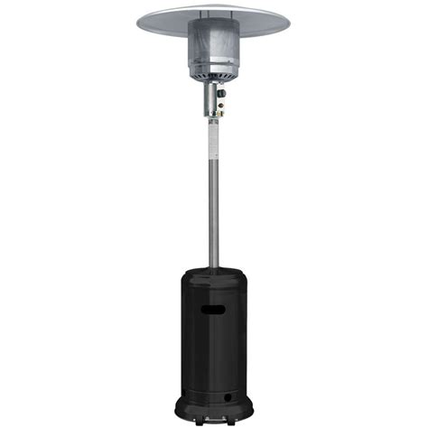 Garden Radiance 41 000 Btu Stainless Steel And Black Full Stainless Steel Propane Patio Heater