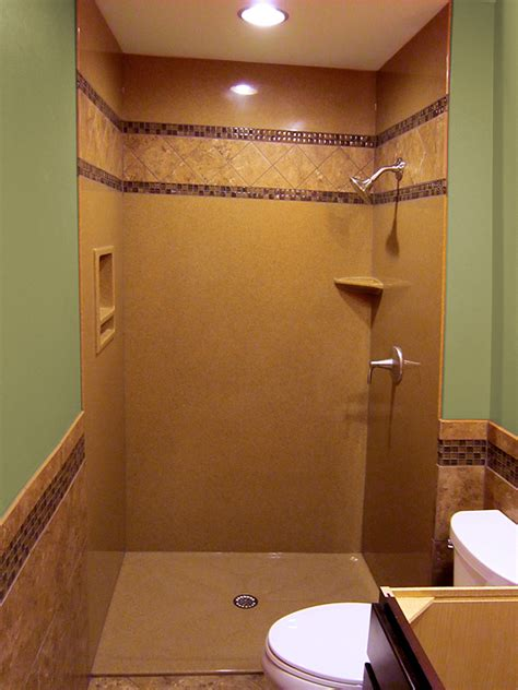 Low Profile Shower Base by Walk In Shower And Bathtub Replacement Gallery Bathscapes
