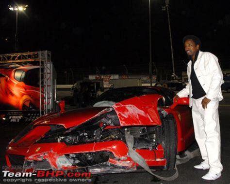 Eddie Griffin Crashes A Enzo by Crashes Team Bhp