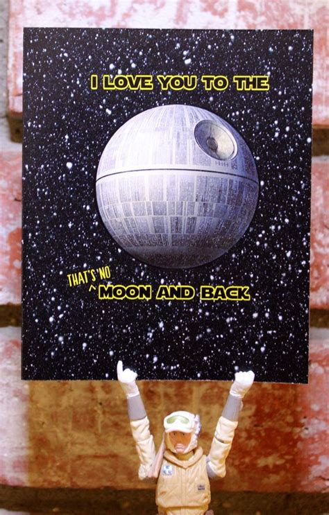 to the moon and back valentines day card template 218 best images about wars craft ideas on