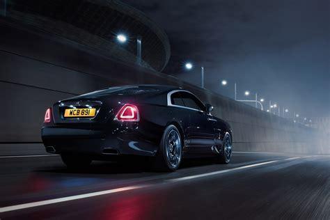 rolls royce black badge edition actualit 233 automobile