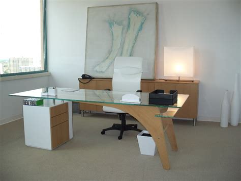 Home Office Desk Contemporary 1400 Desk Modern Home Office Miami By Fd M Inc