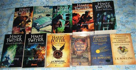 libro la saga de los 11 libros saga harry potter y paquete animales fant 225 sticos y 1 659 00 en mercado libre