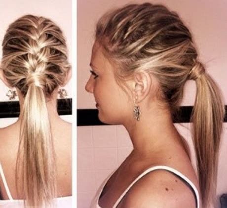 easy hairstyles for medium hair fast easy and fast hairstyles for medium hair