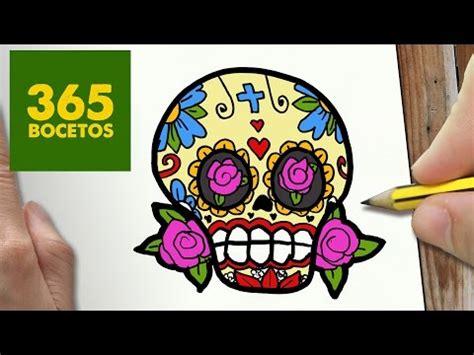 imagenes de calaveras kawaii como dibujar una calavera mejicana