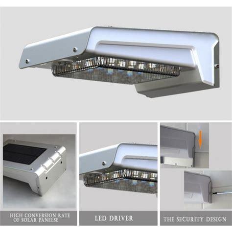 lade da esterno a energia solare lada led solare a muro da esterno con sensore di