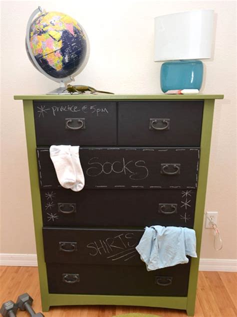 diy chalkboard dresser 8 diy projects for your home using chalkboard paint
