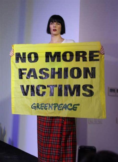 Greenpeace Clothing Detox by Greenpeace Detox Fashion Show Paperblog