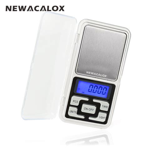 Digital Pocket Scale Mh Timbangan newacalox 200g x 0 01g mini precision digital scales for gold bijoux sterling silver scale