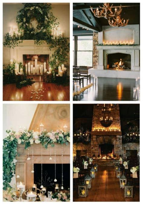 fireplace decor 50 wedding fireplace decor ideas happywedd