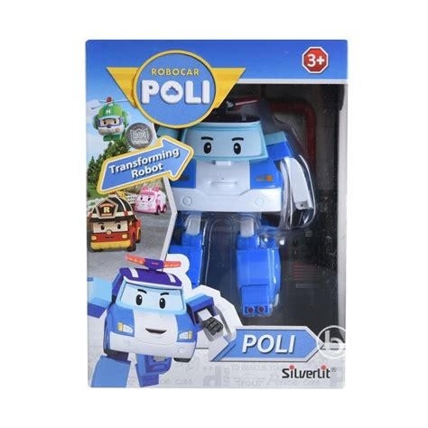 Figure Robocar Poli 2 In 1 Mobil Poli Berkualitas jual silverlit robocar poli transforming robot poli figure harga kualitas