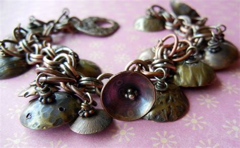 metal jewelry tutorials cymbals of happiness bracelet