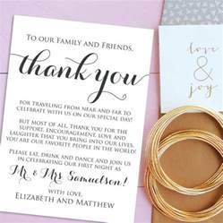 simple thank you cards for wedding 2017 weddingood