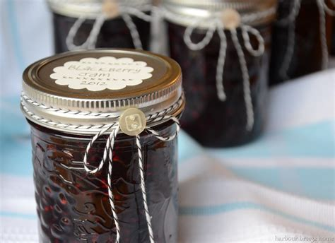 Decorating Ideas For Jelly Jars Decorating Jam Jar As Gifts Harbour Home