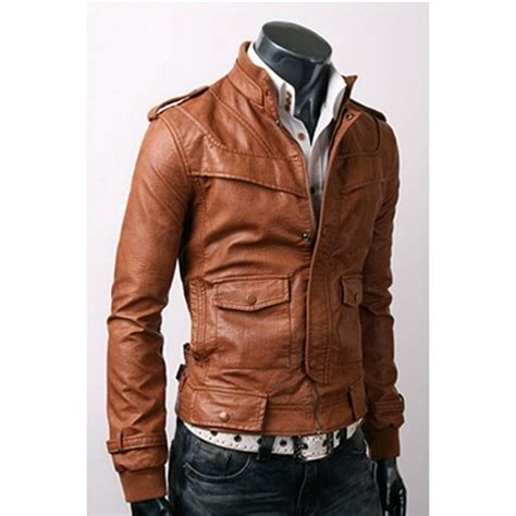 light brown leather jacket mens slim fit light brown leather jacket men s leather jackets