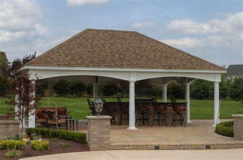 Hip Roof Pavilion Plans 1000 Images About Garden Sheds On