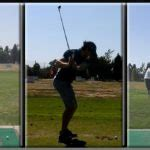 golf swing too steep first tee nerves adam young golf