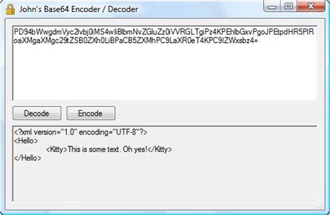base64 format converter john s base64 encoder decoder john s adventures