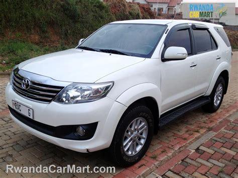Used Toyota Suv Used Toyota Suv 2012 2012 Toyota Fortuner Rwanda Carmart