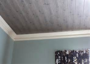 wood look ceiling tiles how to install a beadboard ceiling popcorn home