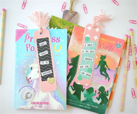 Easy Handmade Bookmarks - diy bookmarks for your bookworms
