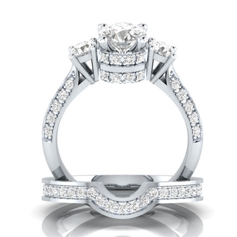 discount for jewelry discount wedding rings 925 silver white sapphire wedding