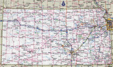 kansas state map large detailed roads and highways map of kansas state with cities vidiani maps of all