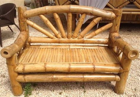 Kursi Panjang Dari Bambu contoh kursi bambu yang keren kerajinan keren