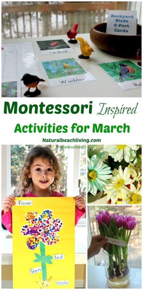 kindergarten themes for march 10 march montessori activities for preschoolers natural
