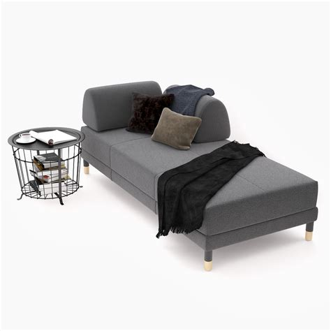 loveseat sleeper sofa ikea 3d sleeper sofa ikea flottebo turbosquid 1239881