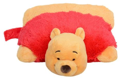 Pooh Pillow Pet by Winnie The Pooh Pet Pillow Soft Animal Cushion Ebay