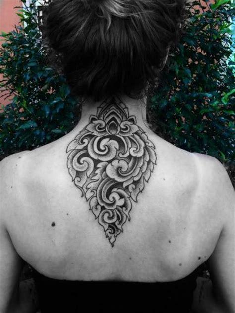 tattoo neck geometric back neck geometric tattoo by corey divine