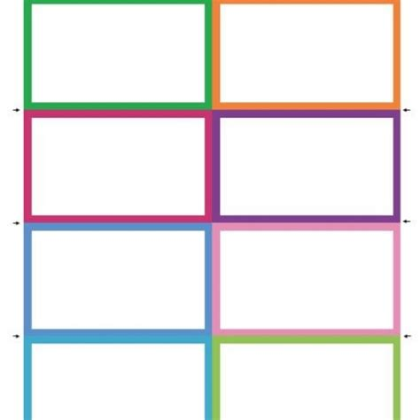 picture templates free flash card templates eliolera best professional templates