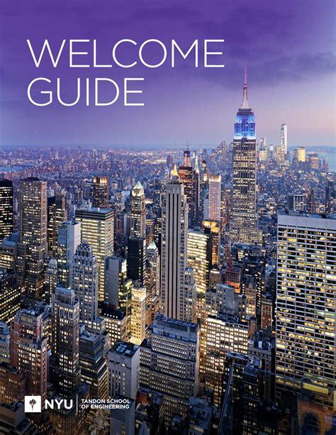 nyu housing portal nyu tandon school of engineering welcome guide 2017 by spark451 issuu